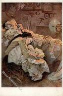 Mucha, Alfons Blahoslaveni ... Künstler-Karte I-II - Ohne Zuordnung