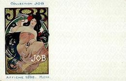 Mucha, Alfons Collection JOB Affiche 1898 Künstler-Karte I-II (Ecke Abgestoßen) - Ohne Zuordnung