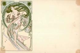Mucha, Alfons Jugendstil II (fleckig) Art Nouveau - Ohne Zuordnung