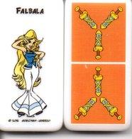 Falbala - Domino Astérix -  Figurine BD Jeu Femme Girl - Jeux De Société