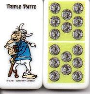 Triple Patte- Domino Astérix -  Figurine BD Jeu - Jeux De Société