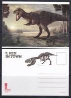 Netherlands 2018 Dinosaurs Postcard - Stamps