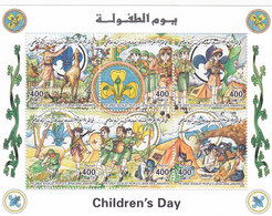 Libya 1998, Scout Small Sheetlet Of 6 Stamps,High Values-Compl.set MNH- Music,animals,Red. Price  High Cat .- SKRILL PAY - Libië