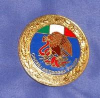 Distintivo Pendif Polizia Agente Cinofilo Antidroga - Italian Police  Enameled K9 Insignia - Usato - Used Obsolete - Polizia