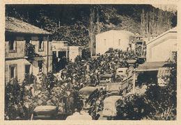 LE PERTHUS - N° 4 - ARRIVEE DES PRISONNIERS FRANQUISTES  AU PERTHUS (GUERRE D'ESPAGNE) - Autres Communes