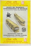 Exposition Universelle Bruxelles 1958 Expo 58 Tram Bus - Dépliants Touristiques