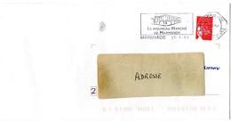 LOT & GARONNE - Dépt N° 47 = MARMANDE 2003 = FLAMME Type II = SECAP Illustrée = 'NOUVEAU MARCHE' - Postmark Collection (Covers)