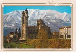 GIAVENO - SELVAGGIO - SANTUARIO N.S. DI LOURDES E CASA MISSIONARIA - NON VIAGGIATA - Andere Städte