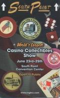 Carte Clé Hôtel Avec Casino Adjoint : South Point : World's Largest Casino Collectibles Show (Noir) - Cartes D'hotel