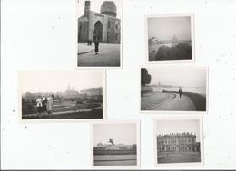 LENINGRAD (ST PETERSBOURG RUSSIE) 6 PHOTOS DE 1935 (PALAIS D'HIVER.LA NEVA. ST PIERRE ET PAUL.MOSQUEE. PIERRE LE GRAND - Plaatsen