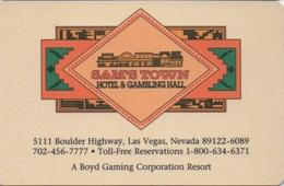 Carte Clé Hôtel Avec Casino Adjoint : Sam's Town Hotel & Gambling Hall : Las Vegas - Cartes D'hotel