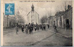 49 - BEL AIR , Par COMBREE --  Rue De L'Eglise - Autres Communes