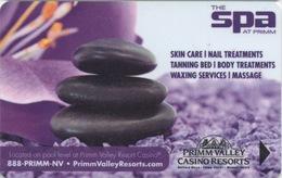 Carte Clé Hôtel Avec Casino Adjoint : Primm Valley Casino Resorts : The SPA At Primm - Cartes D'hotel