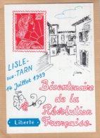B53431 Bicentenaire De La Révolution : Lisle Sur Tarn - Postcards