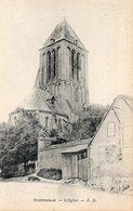 14 OUISTREHAM L' EGLISE CARTE PRECURSEUR - Ouistreham