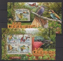 TT071 2016 TOGO FAUNA BIRDS LES GUEPIERS BEE-EATERS KB+BL MNH - Oiseaux