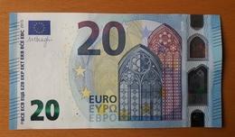 AUSTRIA 20 Euro 2015 Draghi  Letter NZ UNC  Print Code  N001 G1 - EURO