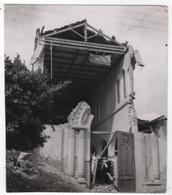 Photo Originale Algérie Chlef Orléansville Séisme Tremblement De Terre 1954 Eglise - Afrika