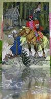 """Conte Populaire Russe """"aller Là-bas, Je Ne Sais Pas Où"""" / Baba Yaga Isba Aart Carte Postale Russe Moderne Kotcherguine - Fairy Tales, Popular Stories & Legends"""