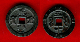 CHINE - CHINA - EMPEROR HSIEN FENG - XIAN  FENG - FUKIEN - RARE  50 CASH -  57mm - 157Gr. - EPAISSEUR 8,4mm - Chine
