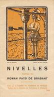 Dépliant Touristique De Nivelles 1938 En 4 Volets - Dépliants Touristiques
