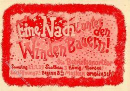 Karneval Augsburg (8900) Winden Bauern Ball Der Betriebssportler I-II - Zirkus