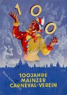 Karneval Mainz (6500) 100 Jahre  I-II (fleckig) - Zirkus