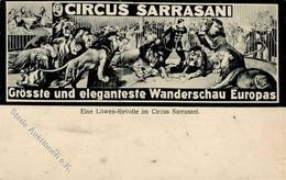 ZIRKUS - CIRCUS SARRASANI - Löwen-Revolte Im Sarrasani - Ecke Gestoßen II - Zirkus