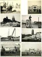Zirkus Busch 30'er Jahre Tournee U. A. Breslau, Danzig WK II Lot Mit 10 Fotos Div. Formate I-II - Zirkus