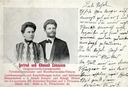 Zirkus Gedächtniskünstler Gerdtrud Und Edmund Lohausen 1906 II (Stauchung) - Zirkus
