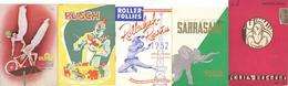 Zirkus Variete Lot Mit 13 Programmheften U.a. Busch, Sarasani, Scala II - Zirkus