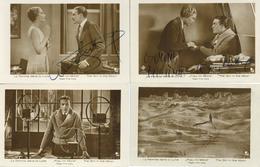 Film Frau Im Mond Regisseur Lang, Fritz Schauspieler Fritsch, Willy U. Maurus, Gerda 2 X Mit Autogramm 5 'er Set Foto-Ka - Mecki