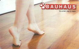 BAUHAUS * DIY STORES * DO IT YOURSELF STORE * FLOOR * GIFT CARD * Bauhaus 10 Hu A * Hungary - Cartes Cadeaux