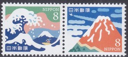 Japan New Issue 01-11-2018 Mint Never Hinged (Serie)  Yvert 9081-9082 - Unused Stamps