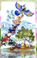 """L'Asie Centrale Le Conte Populaire Tadjik """"l'Oiseau De Kahna"""" / L'art. Carte Postale Russe Moderne. Kotcherguine - Fairy Tales, Popular Stories & Legends"""