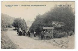 Barrage De La Gileppe - Les Trois Routes Conduisant Au Barrage De La Gileppe L.Lagaert,Brux. - N.7 - Jalhay