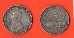 Tallero 1818 A Prussia  Federico Guglielmo III° Germania - Taler Et Doppeltaler