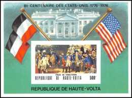 2275/ Haute-Volta N°358 Bicentenaire De L'indépendance Des états Unis - Usa Non Dentelé (imperforate) ** MNH - Onafhankelijkheid USA