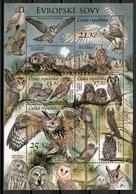 Czech Republic 2015 Chequia / Birds Owls MNH Vögel Búhos Aves Oiseaux / Cu10515  34 - Vogels