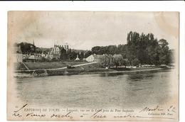 CPA - Cartes Postales-France - Tours - Langeais Vue Sur La Loire-1903- S4269 - Tours
