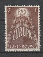 MiNr. 572 Luxemburg 1957, 16. Sept. Europa. - Luxemburg