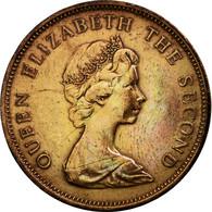 Monnaie, Jersey, Elizabeth II, 2 New Pence, 1975, TTB, Bronze, KM:31 - Jersey