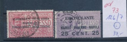 Italien Nr.  126-7   O     (ed 73   ) Siehe Scan - 1900-44 Victor Emmanuel III