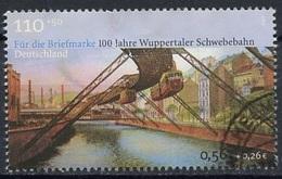 Allemagne Fédérale - Germany - Deutschland 2001 Y&T N°2007 - Michel N°2171 (o) - 110p+50p Pont De Wuppertal - [7] République Fédérale