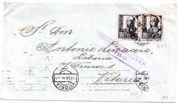 Carta Con Matasellos De Censura Militar De Vigo Y Matasellos De Vitoria. - 1931-Hoy: 2ª República - ... Juan Carlos I