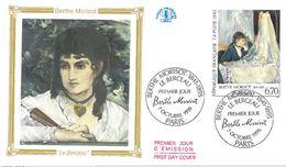 FDC Tableau Berthe Morisot Le Berceau (75 Paris 07/10/1995) - FDC