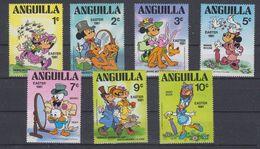Anguilla 1981 Easter / Comics 7v  ** Mnh (41512) - Anguilla (1968-...)