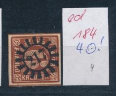 Bayern Nr. 4  ...-netter Stempel     (ed184   ) Siehe Scan - Bavaria