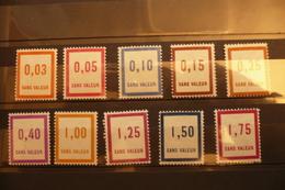 France Fictifs 1935  Dont F25 Et 28 Neufs ** Cote >50€ - Fictifs