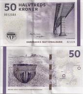 DENMARK   50 Kroner     P-65f       (20)13    UNC   [ B2 - Frey Jensen-Sørensen ] - Danemark